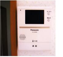 写真: TVモニター付インターフォン(室内)